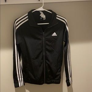 Small Adidas black track jacket